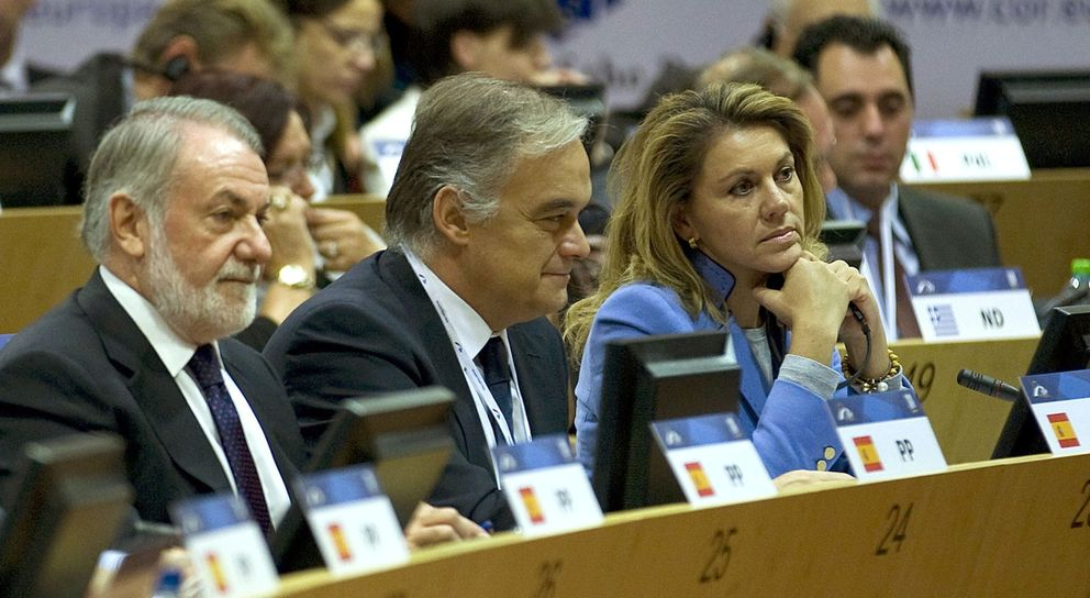 Asamblea política del Partido Popular Europeo en Bruselas. (EFE)