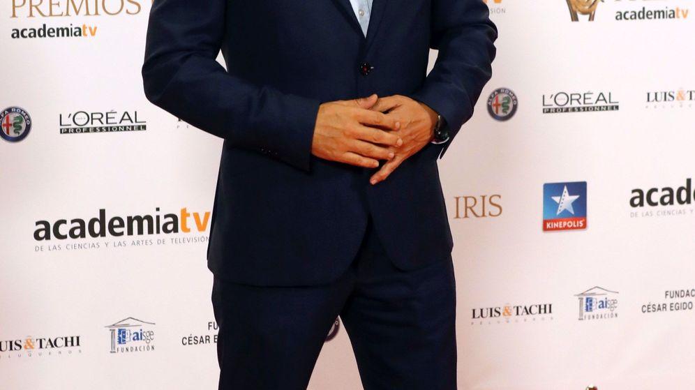 Foto: Roberto Brasero, en los Premios Iris. (EFE)
