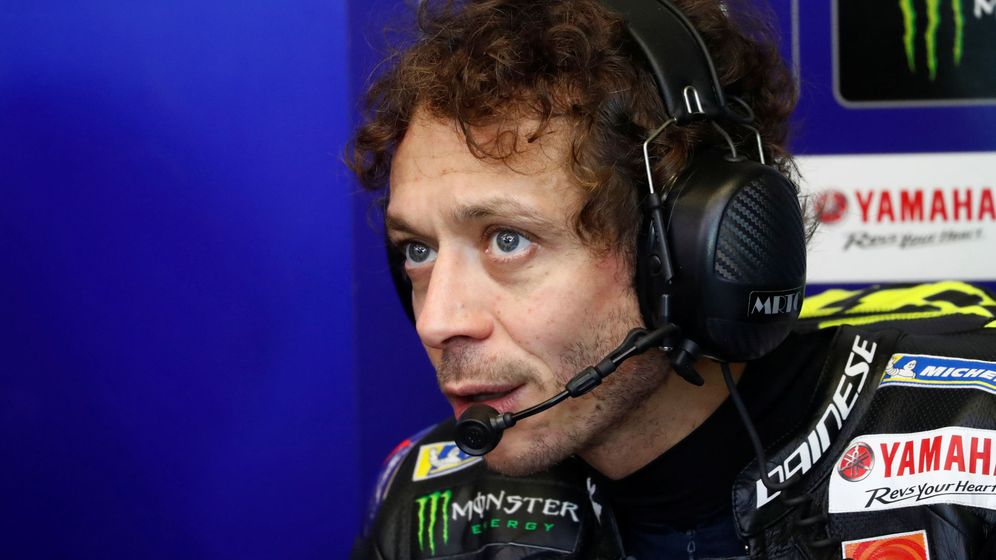 Foto: Valentino Rossi durante el GP de Francia. (Reuters)