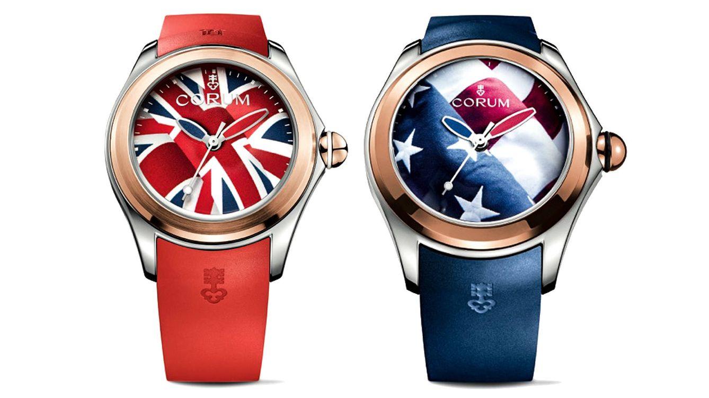 Foto: En su nueva propuesta, Corum rinde un particular homenaje a dos de las grandes potencias mundiales: Estados Unidos y Gran Bretaña.