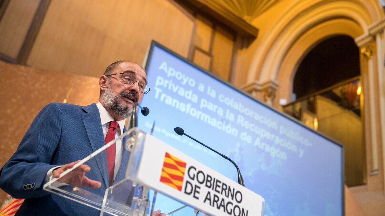 La creación del Institut Aragonès del Català parte en dos al principal socio de Lambán