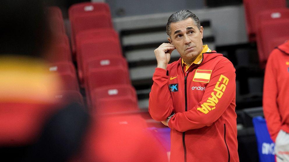 El hastío de Sergio Scariolo: por qué se piensa el brindis final con el basket español