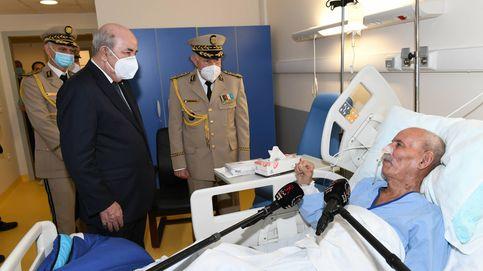 Las máximas autoridades de Argelia brindan su apoyo a Ghali visitándole en el hospital