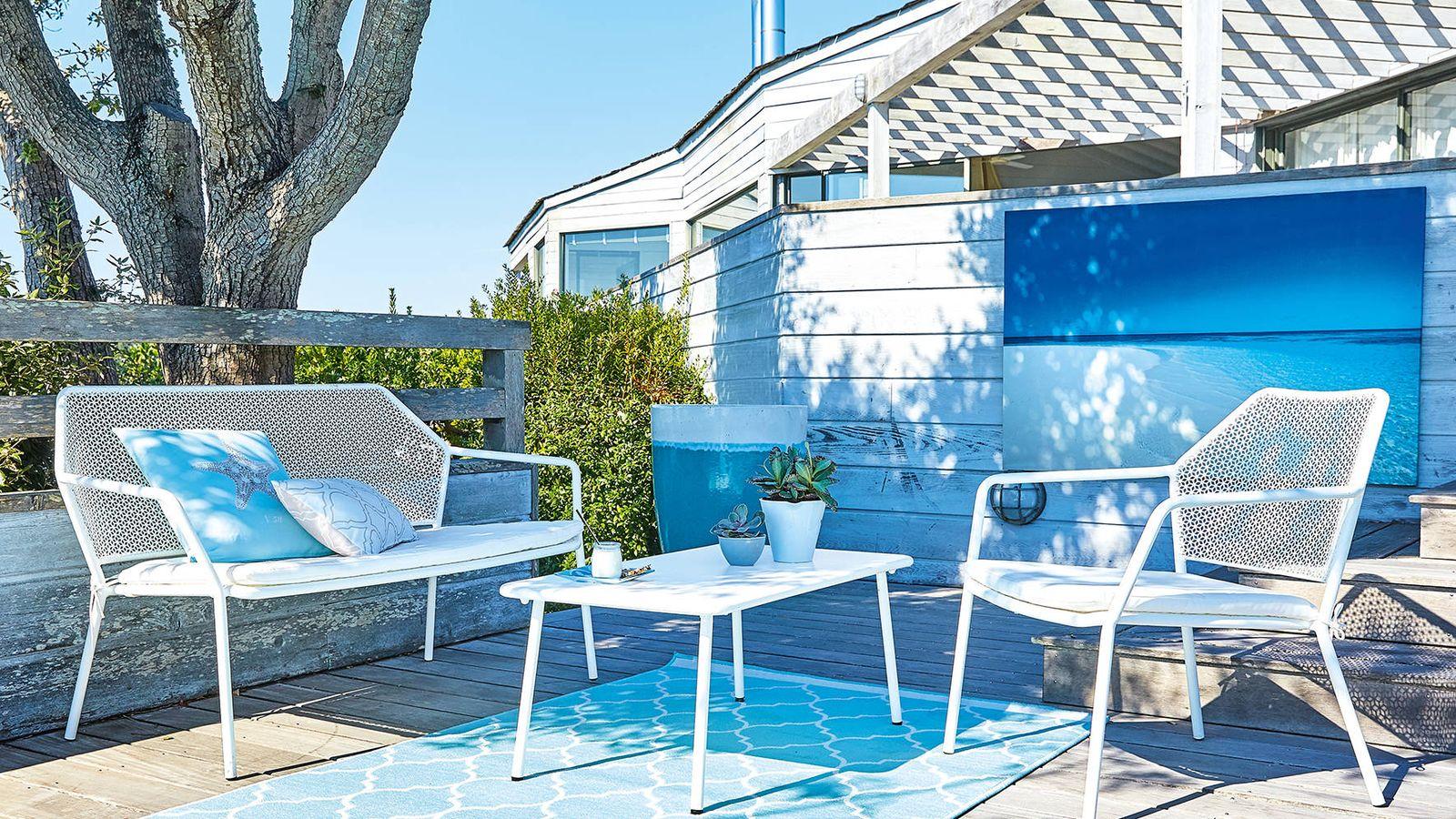 Foto: La terraza es el nuevo salón y la protagonista de la temporada primavera-verano. (Foto: Maisons du Monde)