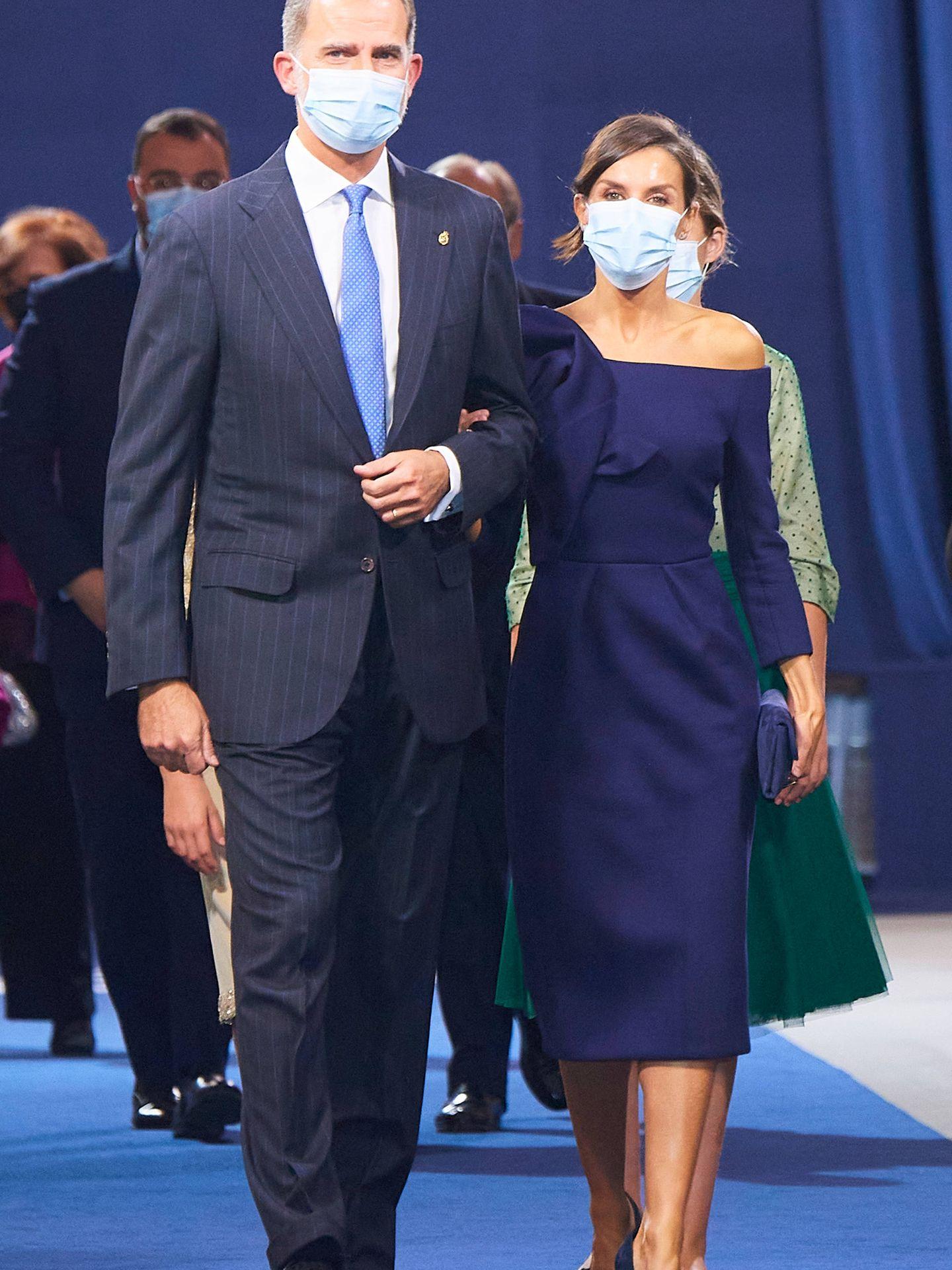 La reina Letizia y el rey Felipe. (LP)