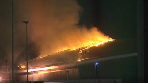 Arde el velódromo olímpico de Río de Janeiro