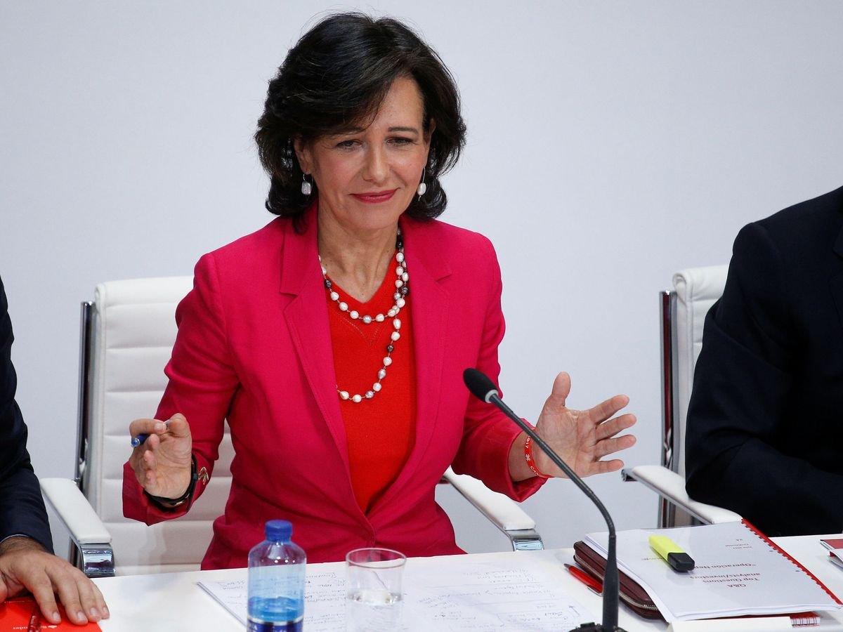 Foto: Ana Botín, presidenta de Santander. (Reuters)