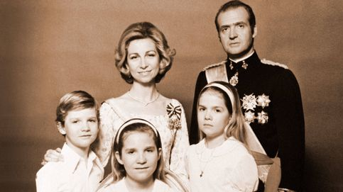 Un matrimonio aparentemente feliz y muy popular: la familia real, 40 años atrás