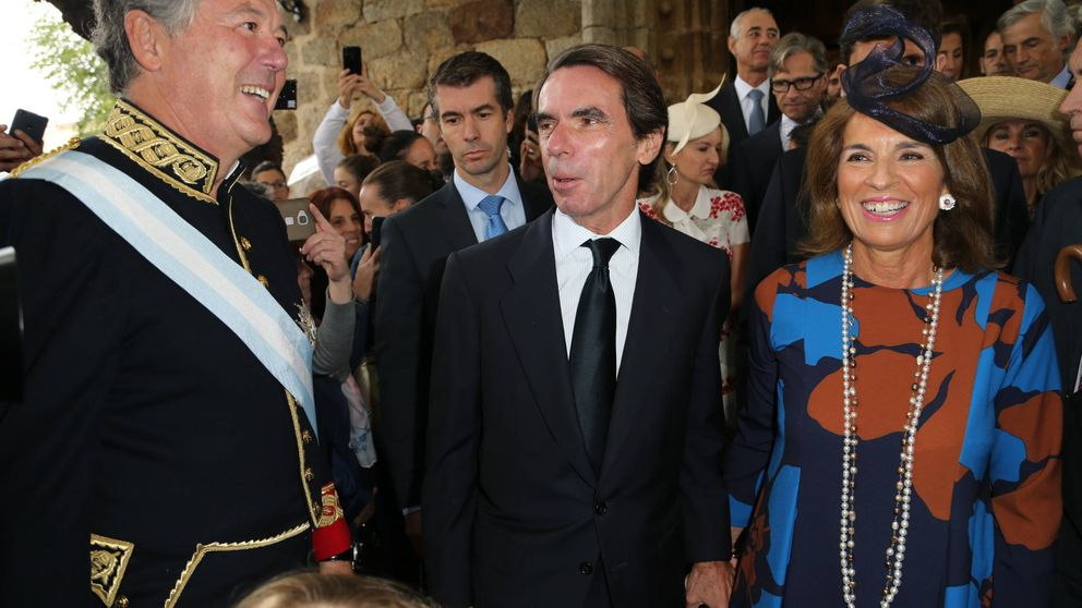 Los Aznar, la baronesa Thyssen... Así ha sido la boda vip de Irene Michavila