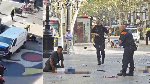 Atentado terrorista en las Ramblas: al menos diez muertos en un atropello