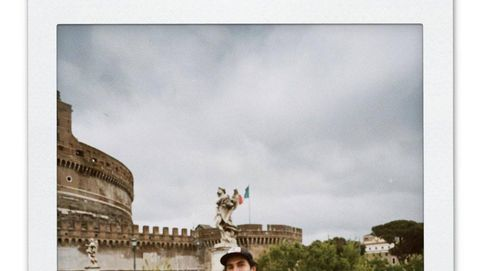 Besos y mucho amor: las fotos inéditas de la escapada de Beltrán Lozano y Daniela Figo a Roma