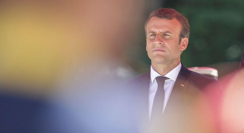 Foto: El presidente francés Emmanuel Macron. (Foto: Reuters)