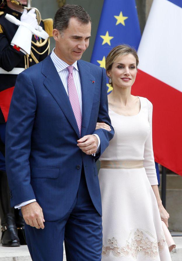 Foto: Felipe y Letizia en Francia (Gtres)