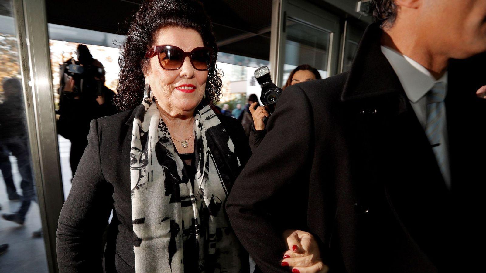 Foto: La exdirectora del Instituto Valenciano de Arte Moderno (IVAM) Consuelo Císcar. (EFE)