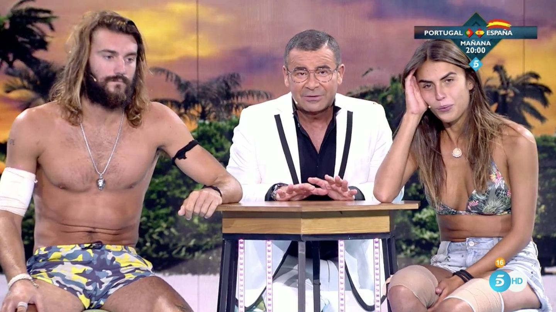 Logan y Sofía repasan su paso por 'Supervivientes' con Jorge Javier (Telecinco)