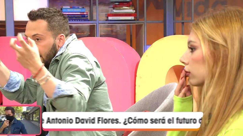 José Antonio Avilés y Alejandra Rubio, en 'Viva la vida'. (Mediaset España)