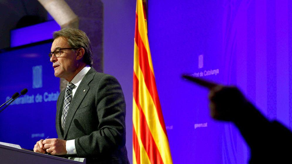 Foto: El presidente catalán en funciones, Artur Mas. (EFE)