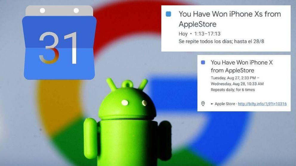 ¿Tu Google Calendar está lleno de eventos de Apple? Son 'spam' y así puedes solucionarlo