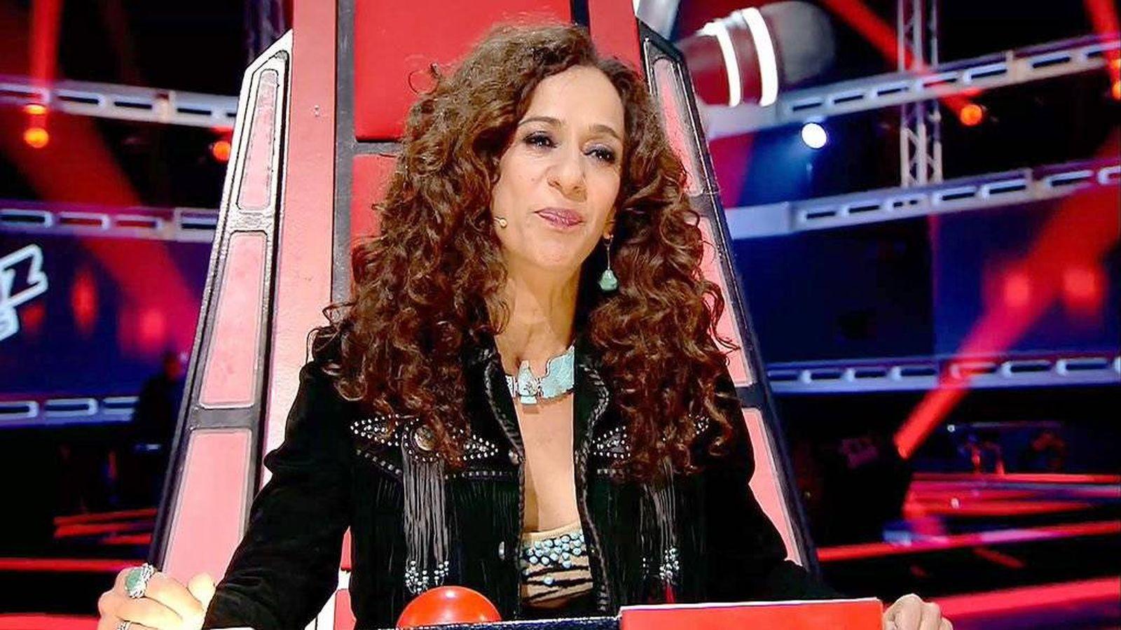 Foto: Rosario Flores, coach de 'La Voz Kids 3'. (Mediaset)