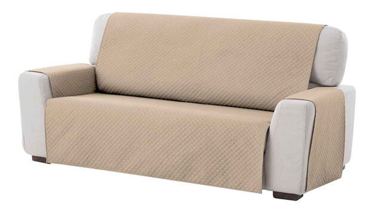 Funda de sofá elástica Textilhome acolchada y reversible