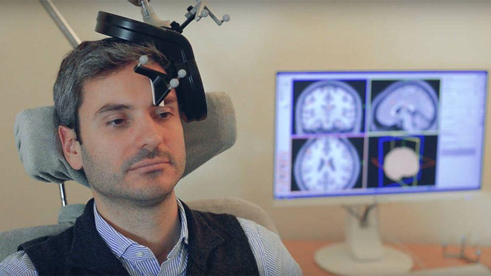 La estimulación magnética transcraneal funciona contra la depresión