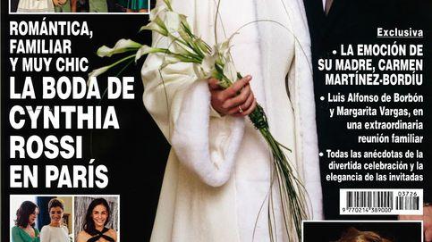 Kiosco rosa: el embarazo de Anne Igartiburu y la boda de Cinthya Rossi en las portadas de Navidad