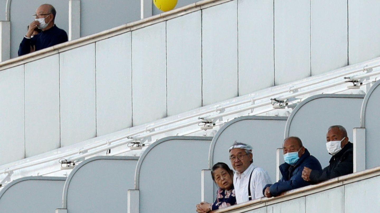 Pasajeros del Diamond Princess. (Reuters)