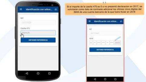 Declaración de la renta 2018-2019: así se consiguen las claves para hacer la declaración vía 'app'
