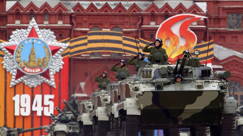 Foto: Desfile militar en Moscú. (Foto: Reuters)