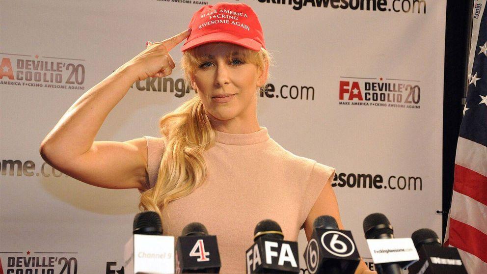 Cherie DeVille, la estrella del porno que quiere ser la próxima presidenta de EEUU