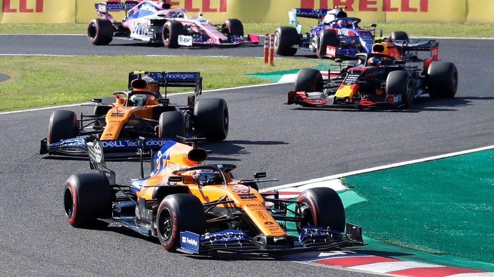Foto: La Fórmula 1 en acción durante el Gran Premio de Japón. (Reuters)