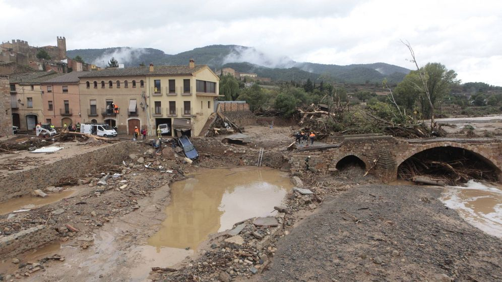Foto: Aspecto de la población de Montblanc (Tarragona). (EFE)