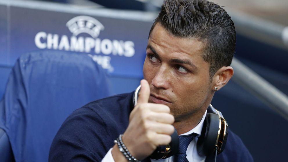 Cristiano Ronaldo arriesga el físico con un Real Madrid partido por la mitad