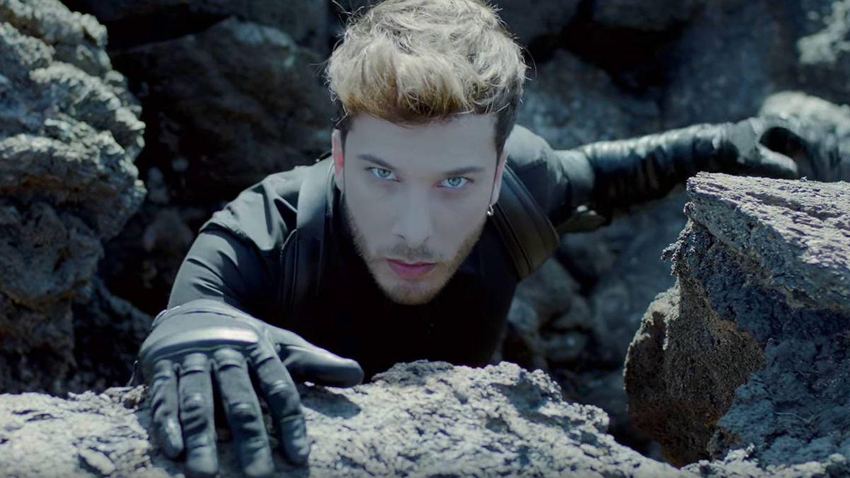 Imagen de Blas Cantó en el videoclip de 'Universo'. (Youtube)