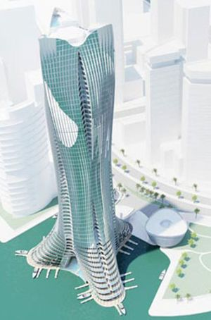 Proyecto Michael Schumacher: siete rascacielos para siete títulos
