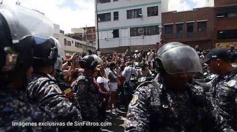Imágenes en exclusiva de las agresiones durante la consulta opositora en Caracas