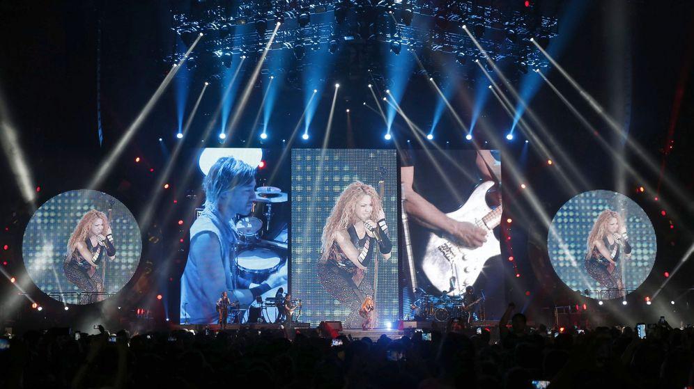 Foto: Concierto de Shakira en Barakaldo. (Efe)