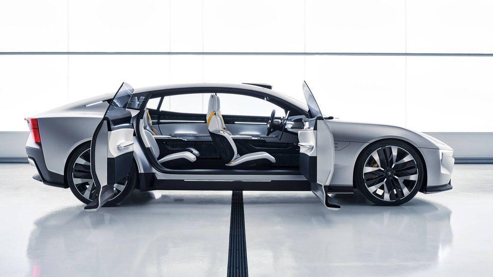 Polestar Precept o cómo es el coche eléctrico de lujo (de Volvo) del futuro