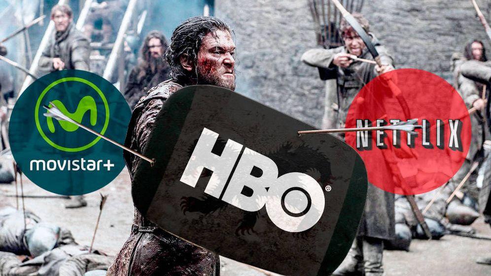 Foto: Juego de Tronos estará en HBO pero también en Movistar  . (HBO) (Foto: HBO | Montaje: Enrique Villarino)