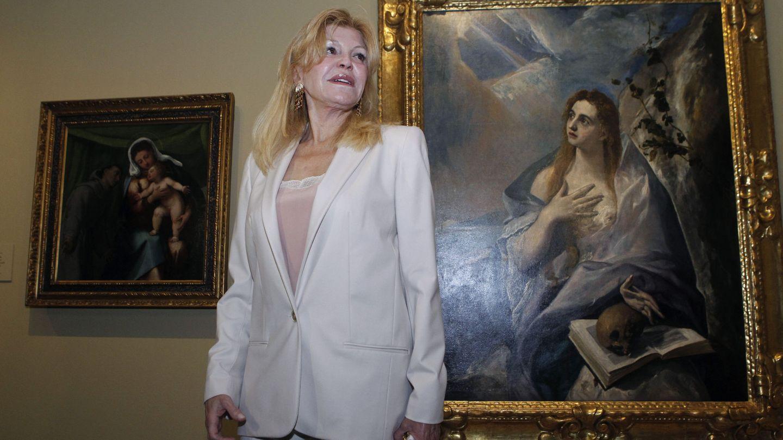 La baronesa Carmen Thyssen. (EFE)