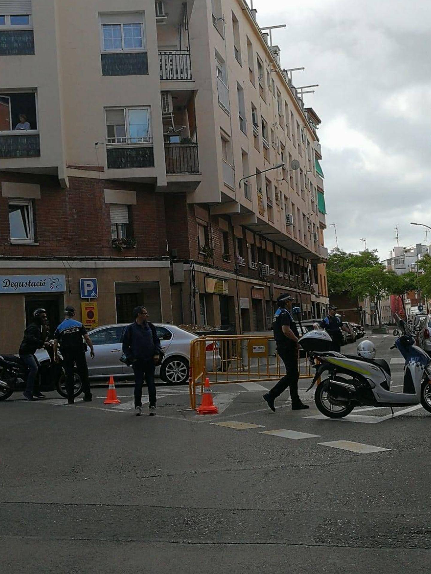 Alrededores de los juzgados de Esplugues de Llobregat. (S.T)