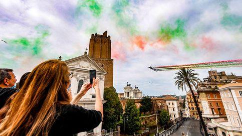 Inicio de la pruebas de la EvAU y Día de la República en Italia: el día en fotos