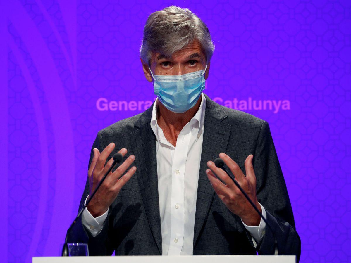 Foto: El secretario de Salud Pública de Cataluña, Josep Maria Argimon,