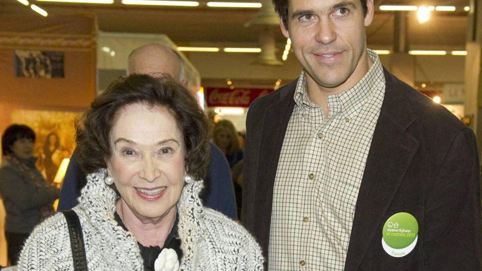 El emotivo adiós de Luis Alfonso de Borbón a su segunda madre