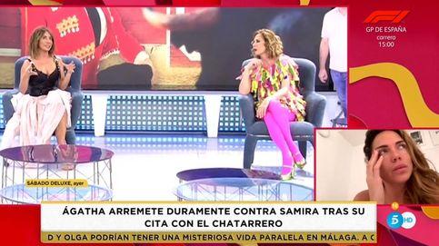 María Patiño pide perdón a Samira Jalil por el insulto clasista de Ágatha Ruiz de la Prada