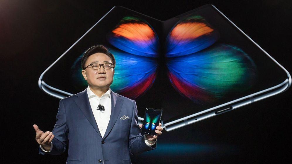 Foto: El Galaxy Fold de Samsung. (Reuters)