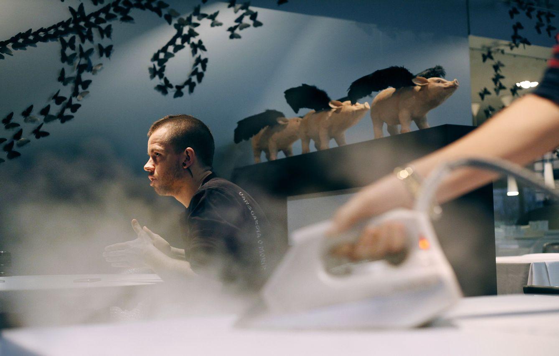 Foto: El cocinero David Muñoz (Enrique Villarino)