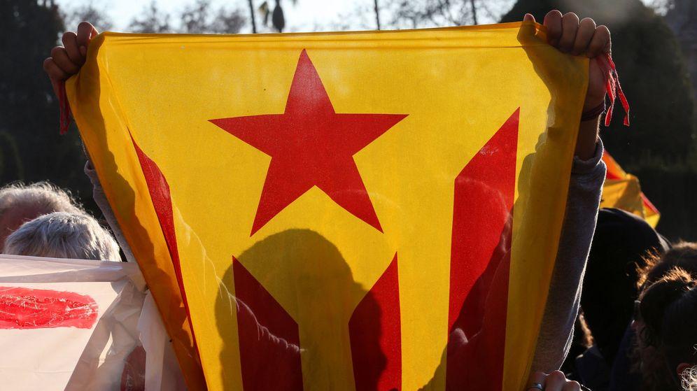 Foto: Estelada durante una protesta. (Reuters)