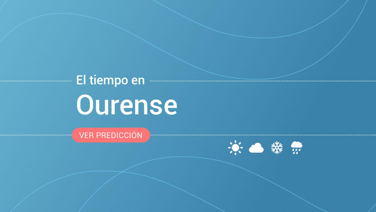 Foto: El tiempo en Ourense. (EC)