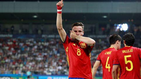La superioridad de Saúl le muestra a Donnarumma lo que es el fútbol español